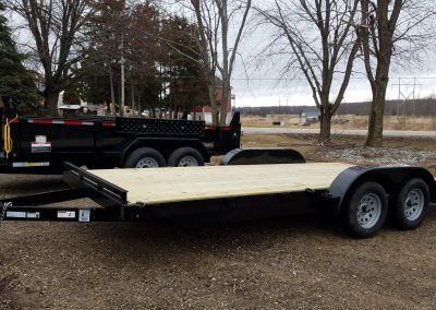 18' Beaver Tail Car Hauler