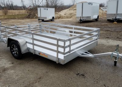 Bear Track 76x120 all aluminum with open side kit