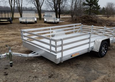 Bear Track 76x124 all aluminum with open side kit