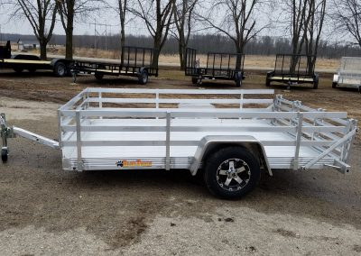 Bear Track 82x144 all aluminum with open side kit