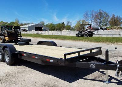 82x14 TMT Equipment Trailer 14,000 lb G.V.W.R