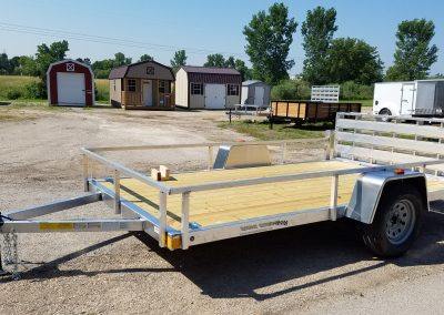 Rance Aluminum 6.5x14 With Bi-Fold Ramp *6.5x12 also available