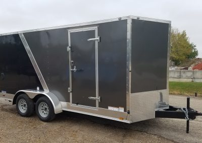 Continental Cargo 7x16 Ramp with Two tone color upgrade and 6 inches extra height