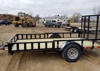 Heartland 82x12 Steel Utility ATV Package