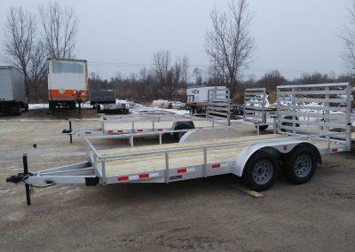 7x14 TA Aluminum Utility Heavy Duty Ramp