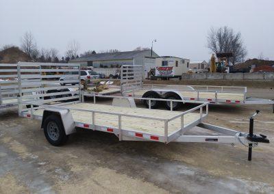 Mid Michigan 82x14 SA Aluminum Utility *Also available 7x12
