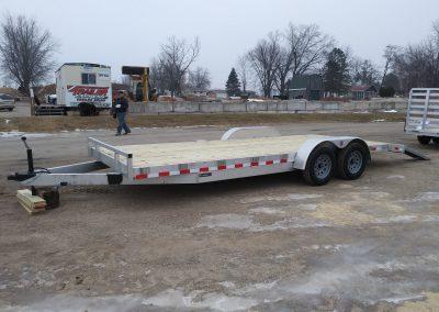 Mid Michigan 82x22 Aluminum Car Haulers