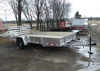 Mid Michigan Trailers 82x12 SA Aluminum with ATP Sides and Bi-Fold Ramp *Also available 5x10, 6x10, 6x12, 7x10, 7x12 & 7x14