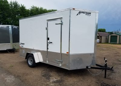 Homesteader 7x12 SA Enclosed with OHV Package