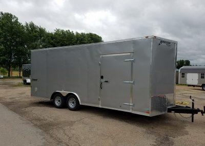 Homesteader 8.5x20 Enclosed Car Hauler 7000 GVWR