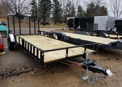Heartland 82x16 SA Steel Utility with ATV Package *Also available 82x12 & 82x14