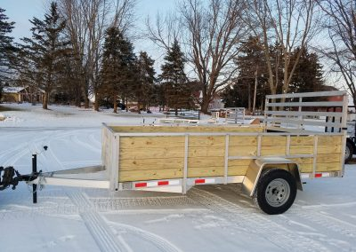 Mid Michigan Trailers 82x14 SA Aluminum Woodside *Also available 5x8, 5x10, 6x10, 6x12, 7x10