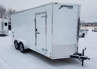 Homesteader 7x16 TA with 1' Extra Height, Rear Ramp