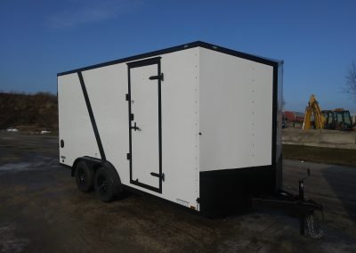 Continental Cargo 7x16 TA Enclosed with UTV Package and Blackout Package ~Many sizes available~